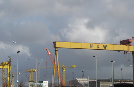 Harland and Wolf cranes
